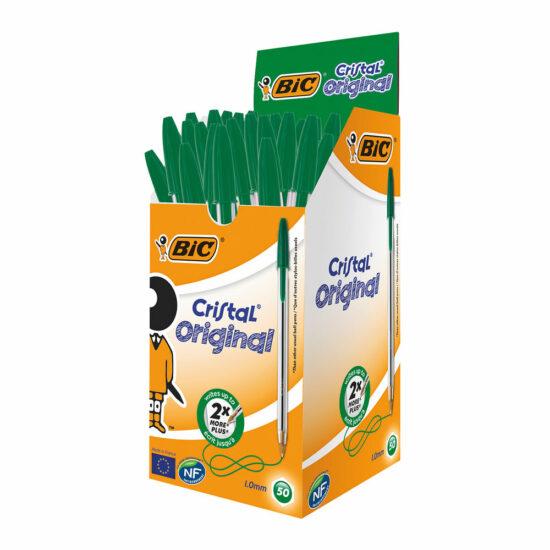 Bic Cristal Green 50pk