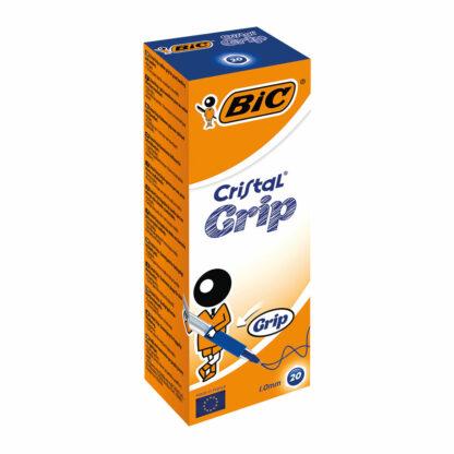 Bic Cristal grip 20pk