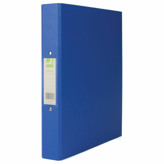 q connect 2 ring binder blue