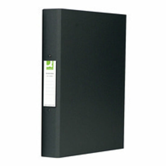 25mm black 2 ring ringbinder